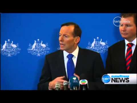 Tony Abbott: 'Team Australia 'best team on Earth'