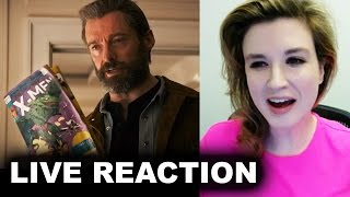 Logan Trailer 2 Reaction 2017