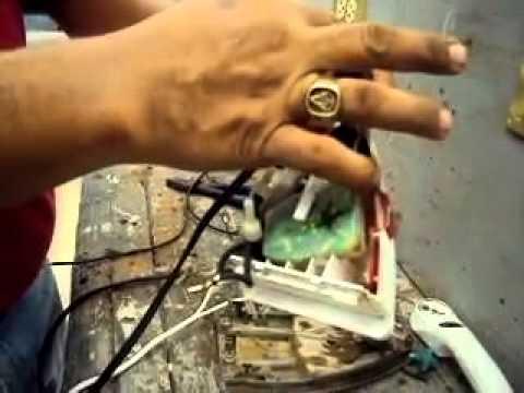COMO REPARAR UNA PLANCHA DE VAPOR ELECTRICA BLACK AND DECKER PARTE SEGUNDA
