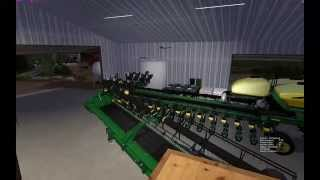 Farming Simulator 2015:  New Shed Tours