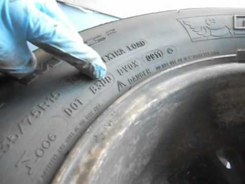 How to read date on tires in Melbourne