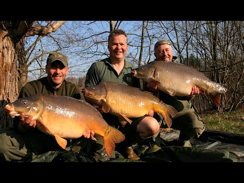 Carp fishing holiday at Domaine de la Ribiere, France
