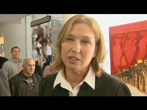 Israël : Tzipi Livni revient dans l'arène politique