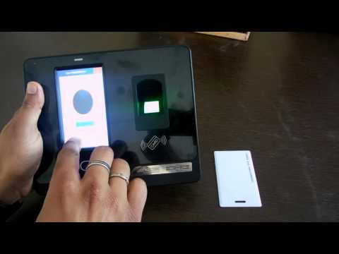 T501F Face Finger Card Password with Battery and Push Data better than iface