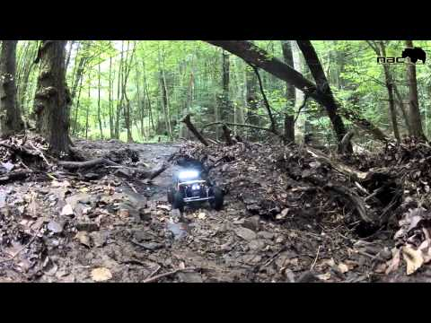 Epic Creek Run II - Natural Born Crawler - RC Scale - Axial Honcho Axial Wraith Tamiya Tundra