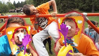 Parkour Pie Face Challenge | Tary Camp 2019