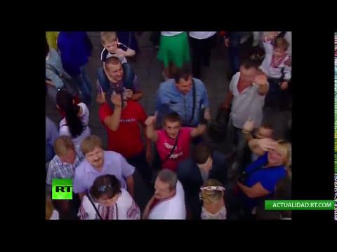 Ucrania celebra su Día de la Independencia con un desfile militar en Kiev