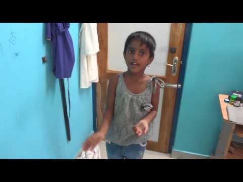 Panruti Harini from cluny school, neyveli,telling story.