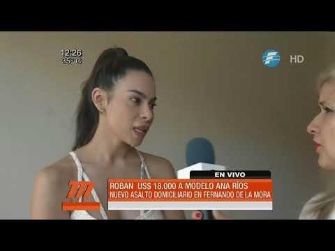Roban millones de la vivienda de la modelo Ana Ríos