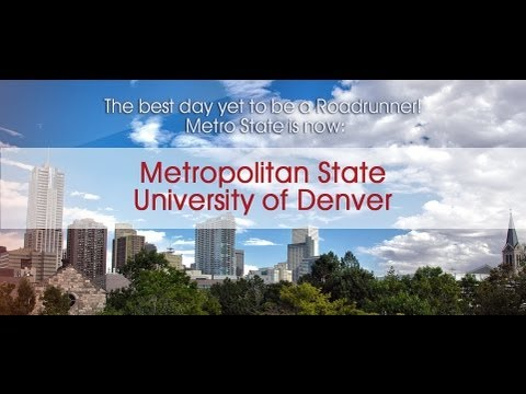 Metropolitan State University of Denver Signing