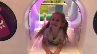 Indoor playground for kids   Fun activities with Lika and Marik Joy Joy Lika