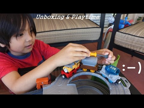 Thomas & Friends Take N Play: Ben's Cement Mix-up - Tale Of The Brave video