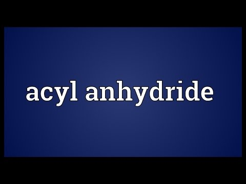 Header of Acyl Anhydride