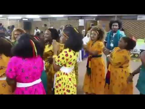 Ethiopians Celebrating Ashenda Shadey In Doha, Qatar
