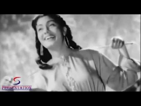 Jiya Bekarar Hai Chaayi Bahaar Hai - Lata Mangeshkar - BARSAAT...