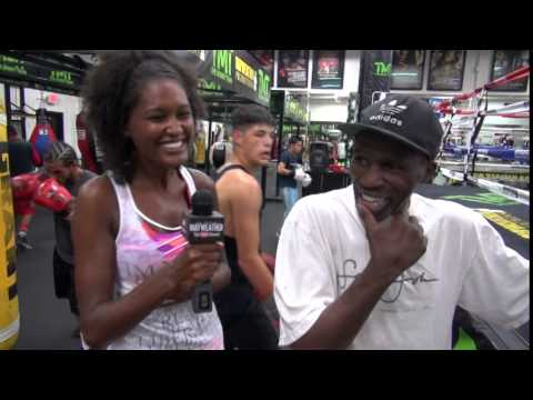 Roger Mayweather goes WAY over the line answering reporter's question!