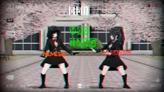 [MMD]Nemesis and Yandere - WOO TANG