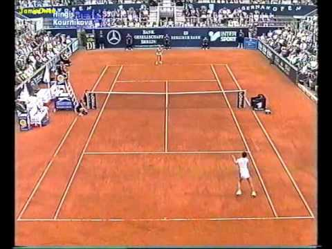Anna Kournikova vs Martina Hingis 1998 Berlin Highlights
