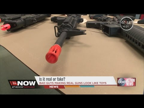Toy Guns vs Real Guns Real Guns Look Like Toys