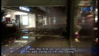 Jem shopping mall's ceiling collapses, three injured - 19Sep2013