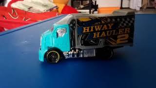 HIWAY HAULER 2 VS LAMBORGINI RACING!! WHO IS WIN? #TOYS #TOY