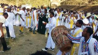 Ethiopan Ortodox Tewahido Gonder timket