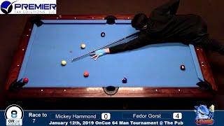 Fedor Gorst (RUS) - Mickey Hamond (USA). 9 ball. Race to 7