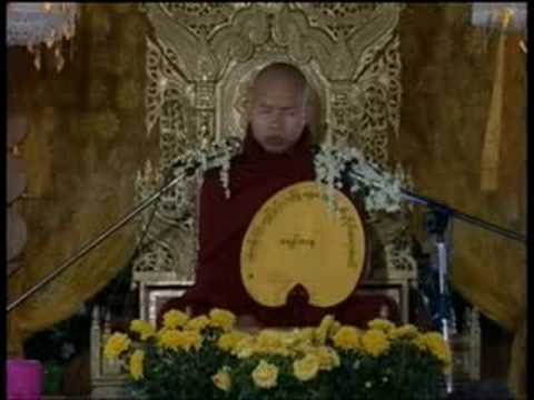 #1 Sayadaw Ashin Zawana In Myanmar Part 1 video