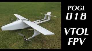 POGL018 VTOL - New VTOL airplane concept. Nouveau concept d