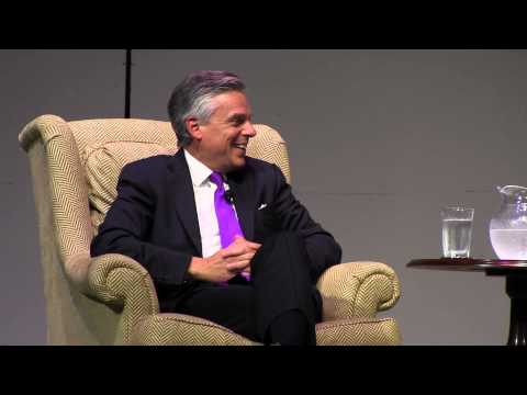 Weil Lecture 2012 Jon Huntsman