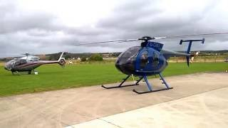 MD900 Explorer Helicopter Engine Startup and Takeoff