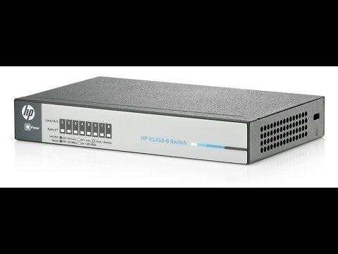 Обзор-распаковка Коммутатора HP ProCurve 1410-8G [j9559a]