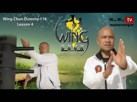 Wing Chun Dummy - Form - applications Lessons 4-10 Image 1