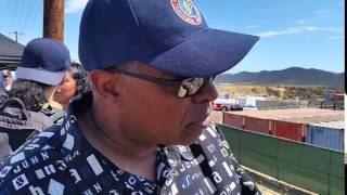 Murrieta Immigration Rally Black Protester Defending America
