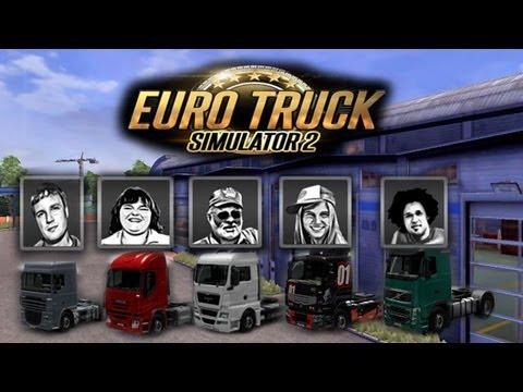 Euro truck 2 - Administrando a empresa e ficando rico!