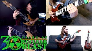 RINGS OF SATURN - Inadequate (Guitar Playthrough)