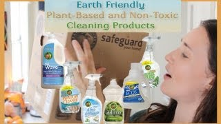 Earth Friendly, Plant-Based and Non-Toxic Cleaning Products