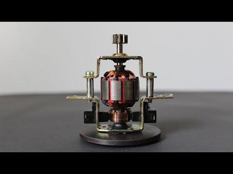 How To Make a Motor Generator Light Bulbs