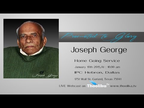 Funeral Service of Joseph George  - 93