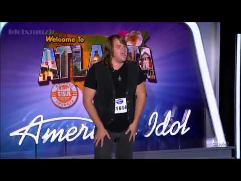 Amazing Caleb Johnson Wows The Judges - First Audition - American Idol