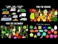 Finding Collection - Find the Vehicles, Fruit, Vegetables, & Shapes - The Kids