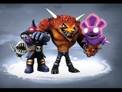 Favorite (All) Undead Villains in Skylanders: Trap Team + Battle/Capture Sequences