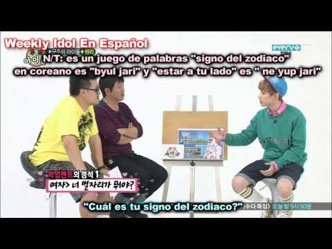 [Sub Español]131009 Weekly Idol Henry PARTE 2 (Kyuhyun - Super Junior)