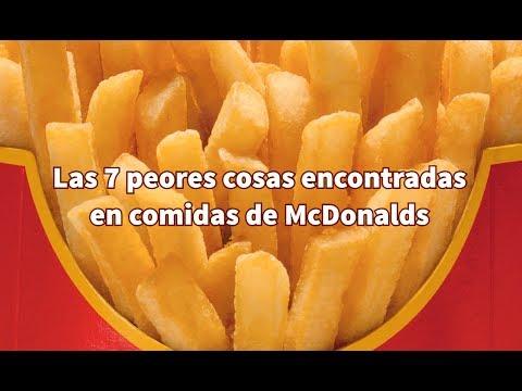 Entretenimiento-Las 7 cosas más asquerosas encontradas en comidas de McDonalds