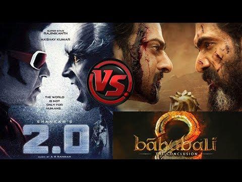 2.O VS Baahubali 2 Comparision | #Shankar | #Rajamouli | #Rajinikanth #2Point0 #Prabhas #Baahubali2