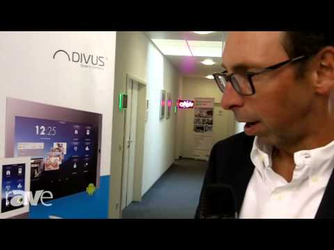 COMM-TEC 15: DIVUS Shows Its New Android-Enabled Touch Panels for Home Control (EN)
