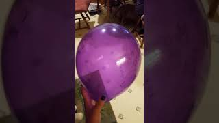 Misty balloon