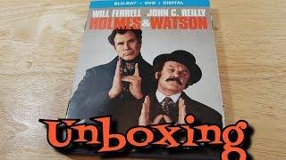 Holmes & Watson Blu-Ray Unboxing