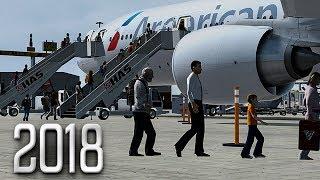 New Flight Simulator 2018 in 4K | Spectacular Realism | P3D 4.3