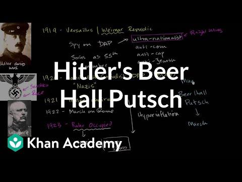 Hitler's Beer Hall Putsch   The 20th century   World history   Khan Academy